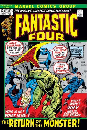 Fantastic Four (1961) #124