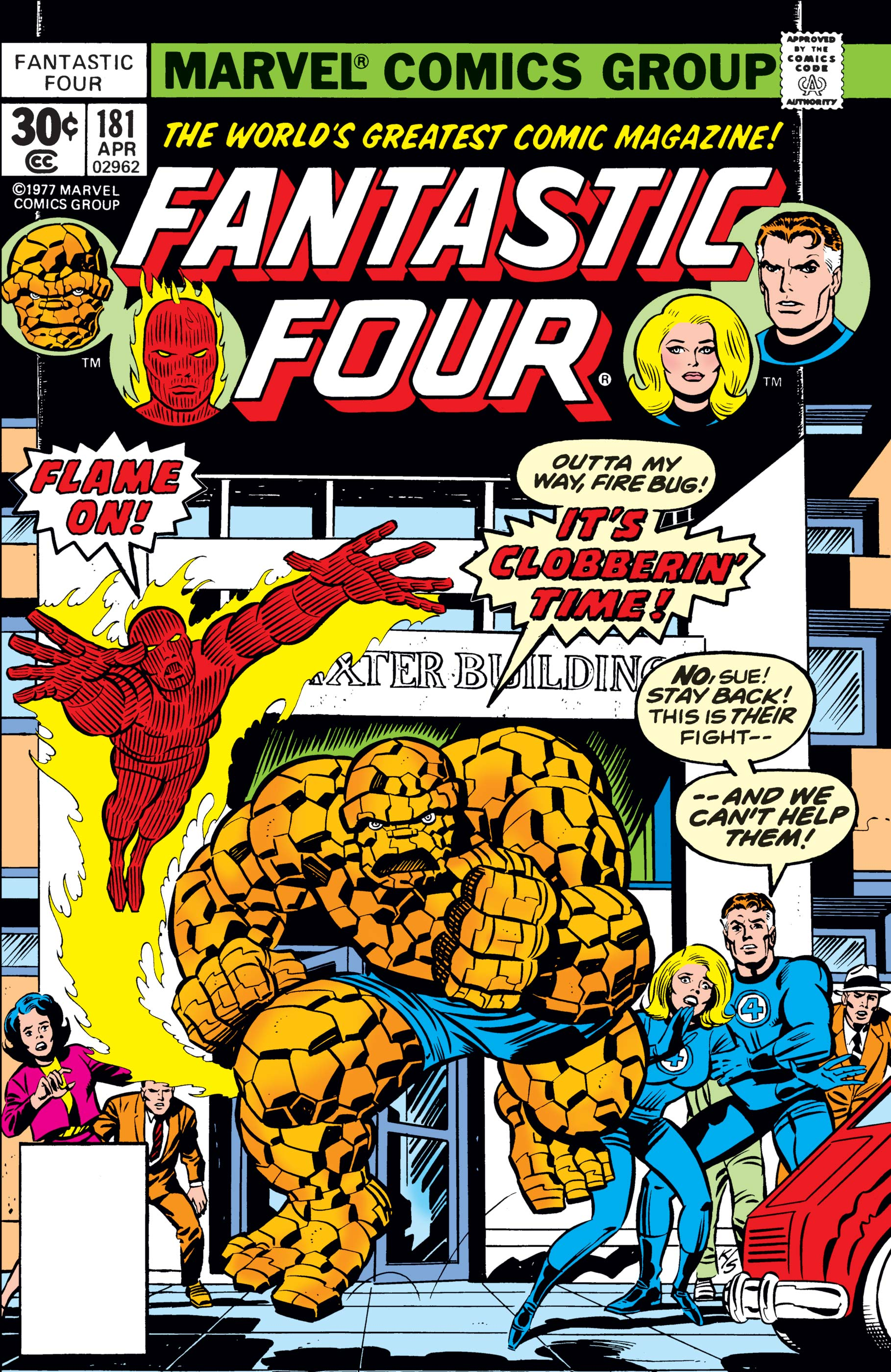 Fantastic Four (1961) #181