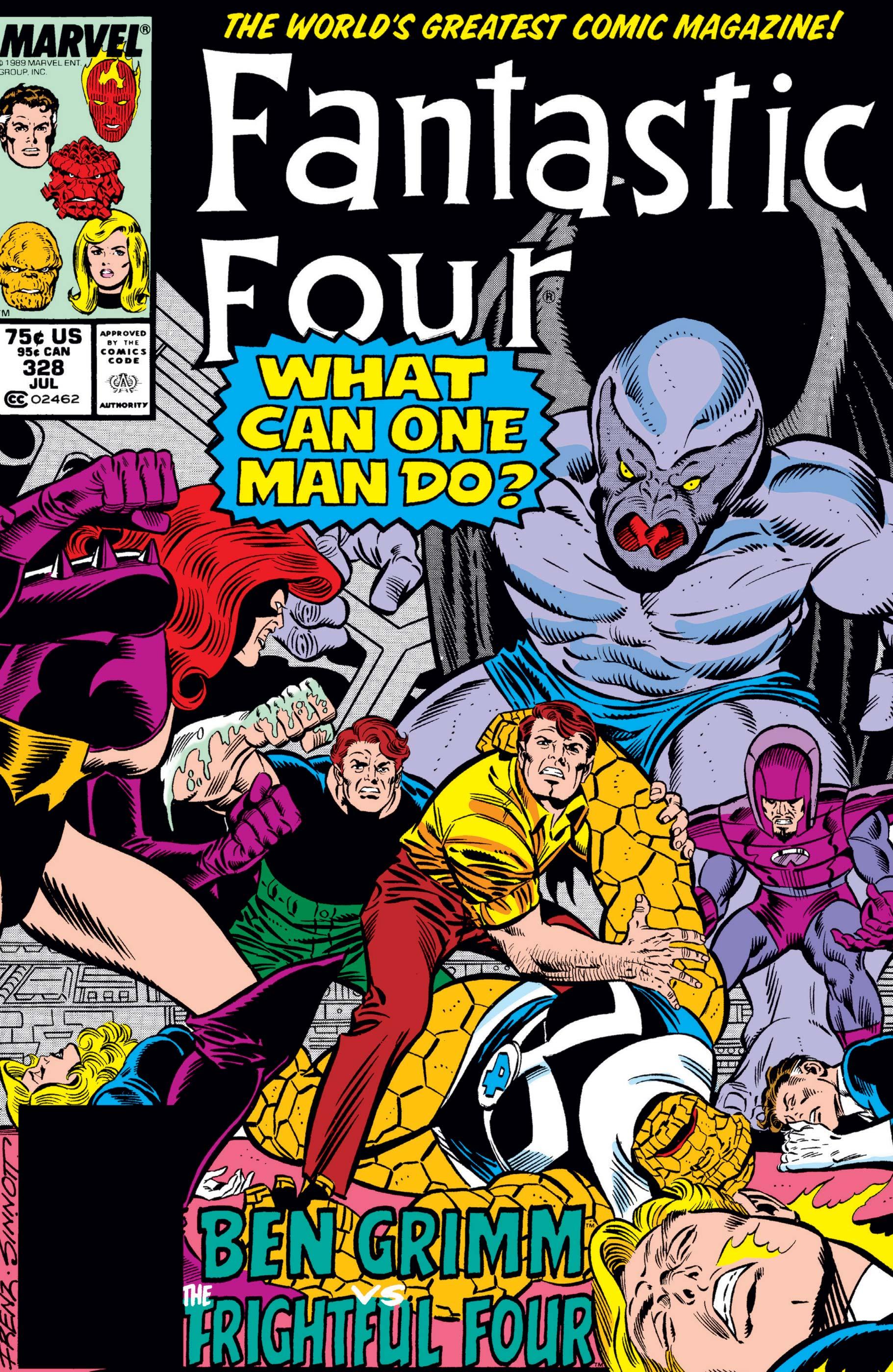 Fantastic Four (1961) #328