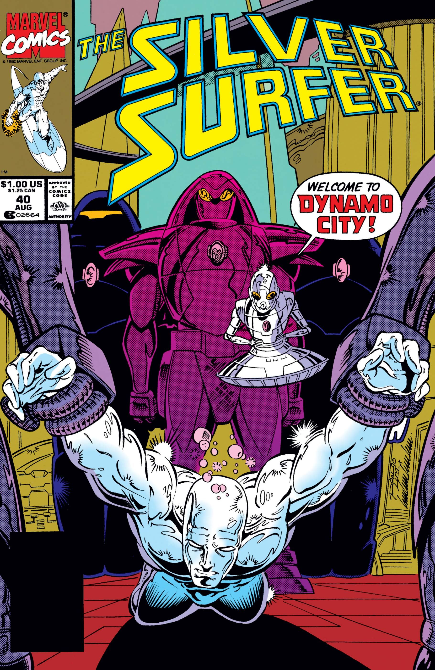 Silver Surfer (1987) #40