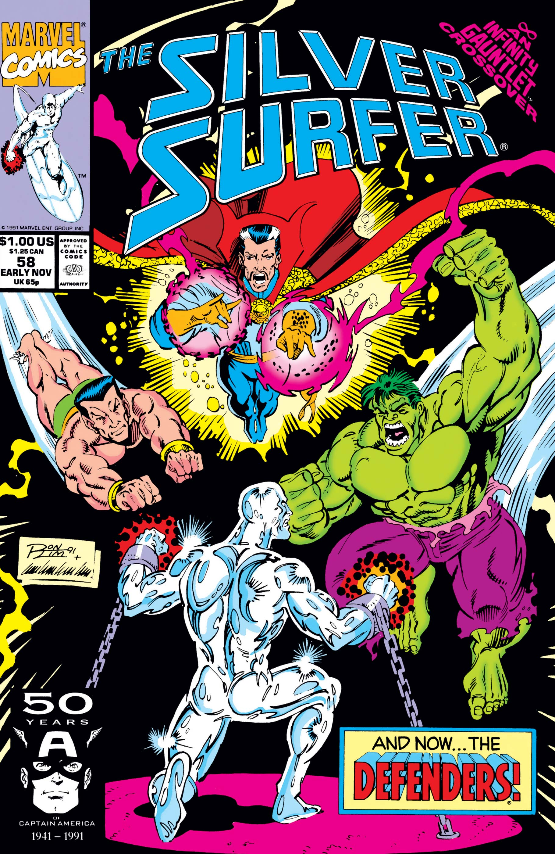 Silver Surfer (1987) #58