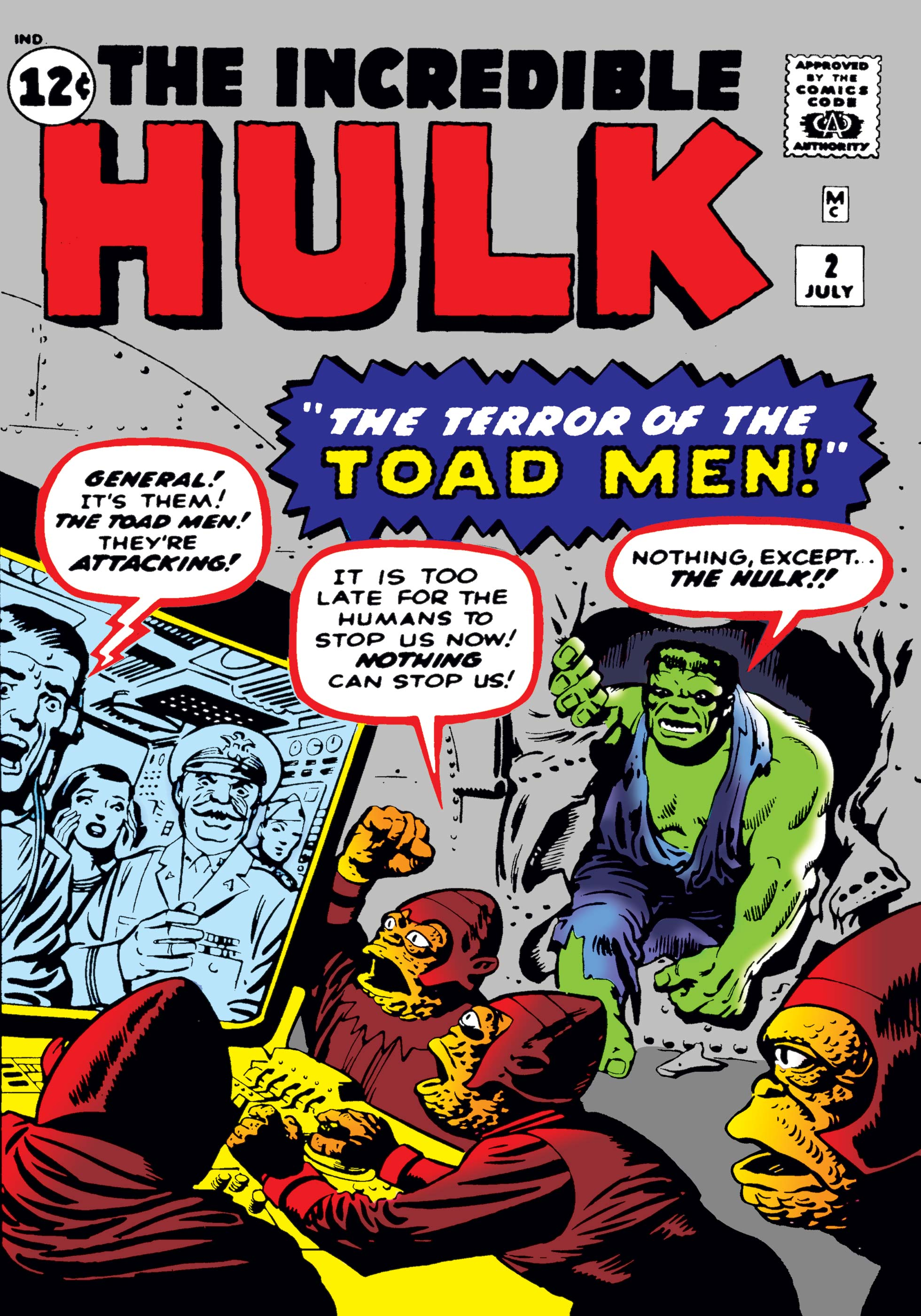 Incredible Hulk (1962) #2