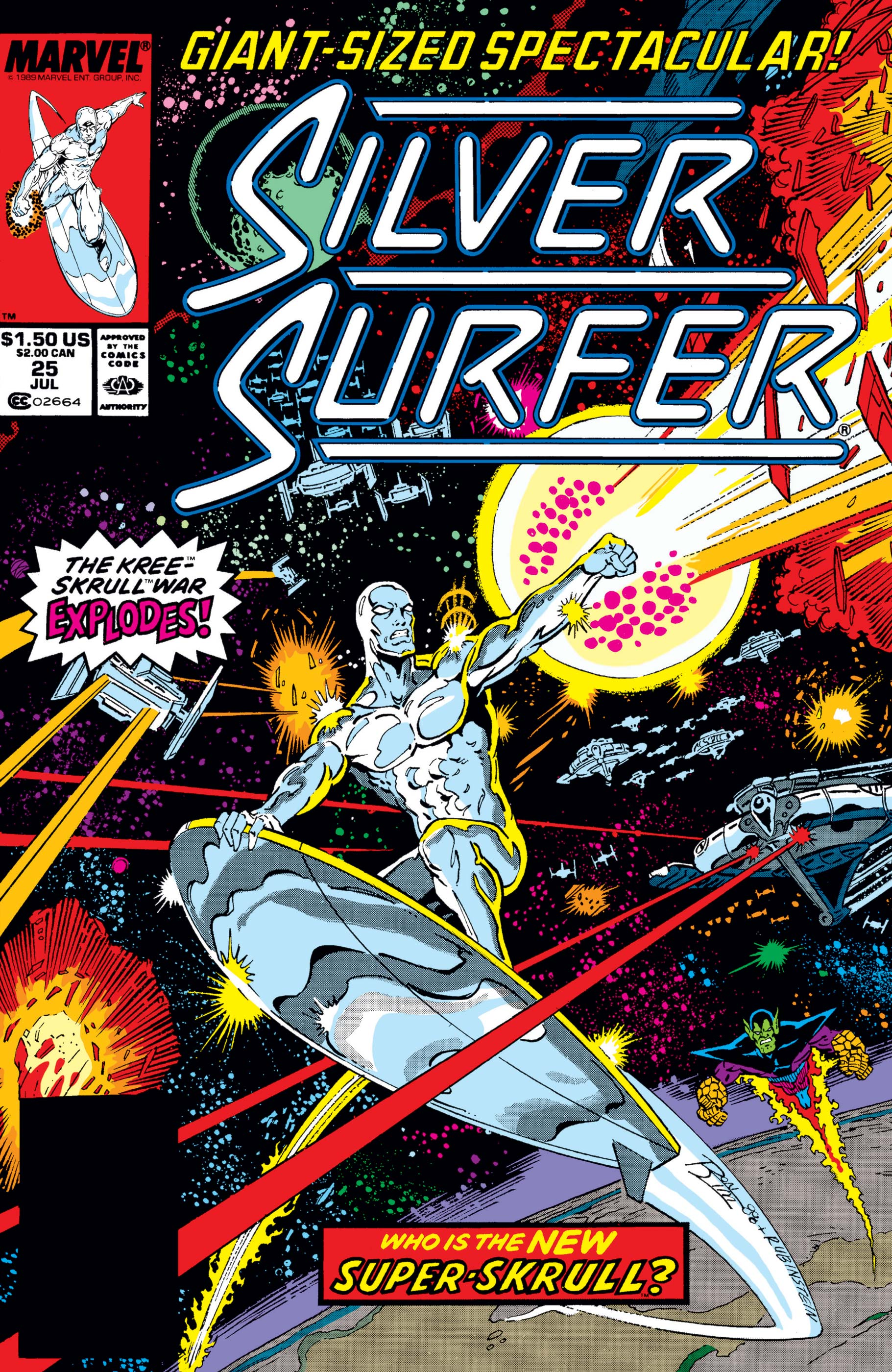 2-60 individual issues 1987 1988 Silver Surfer 1,