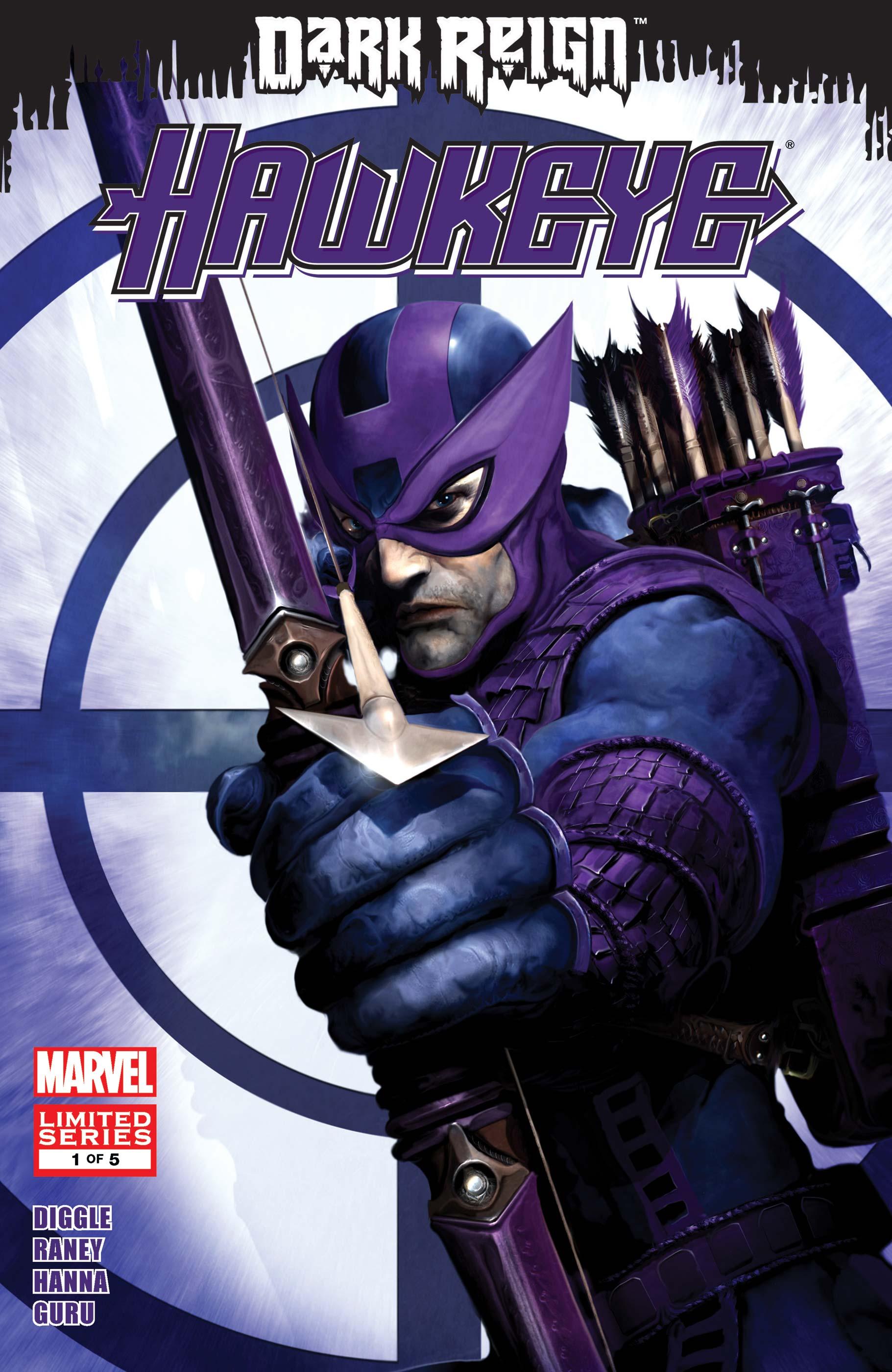 Dark Reign: Hawkeye (2009) #1