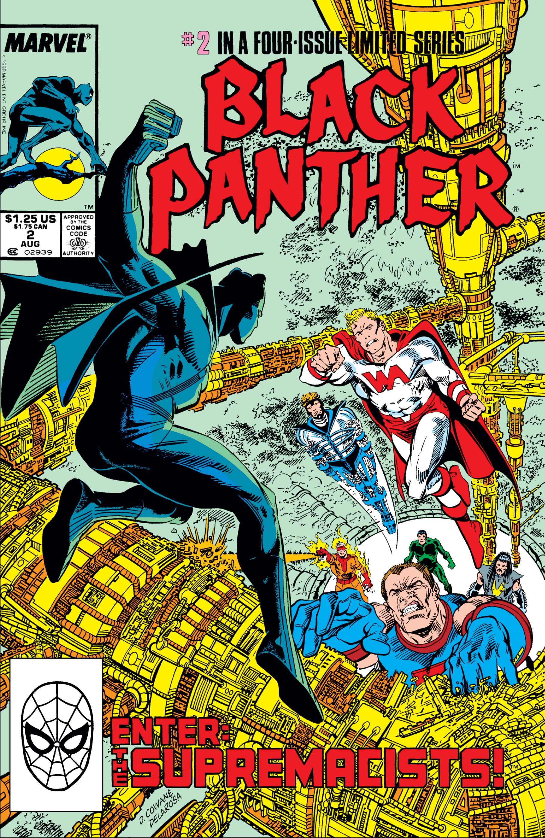 Black Panther (1988) #2
