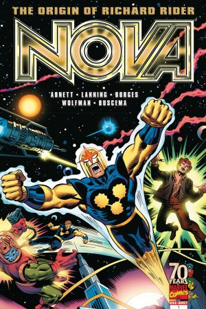 Nova: Origin of Richard Rider #1