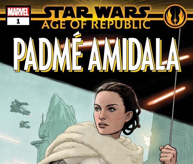 cover from Star Wars: Age of the Republic - Padme Amidala (2019) #1