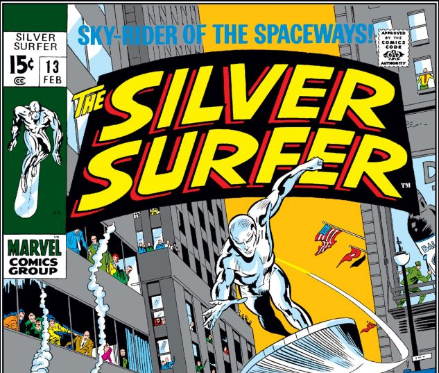 SILVER SURFER (1968) #13