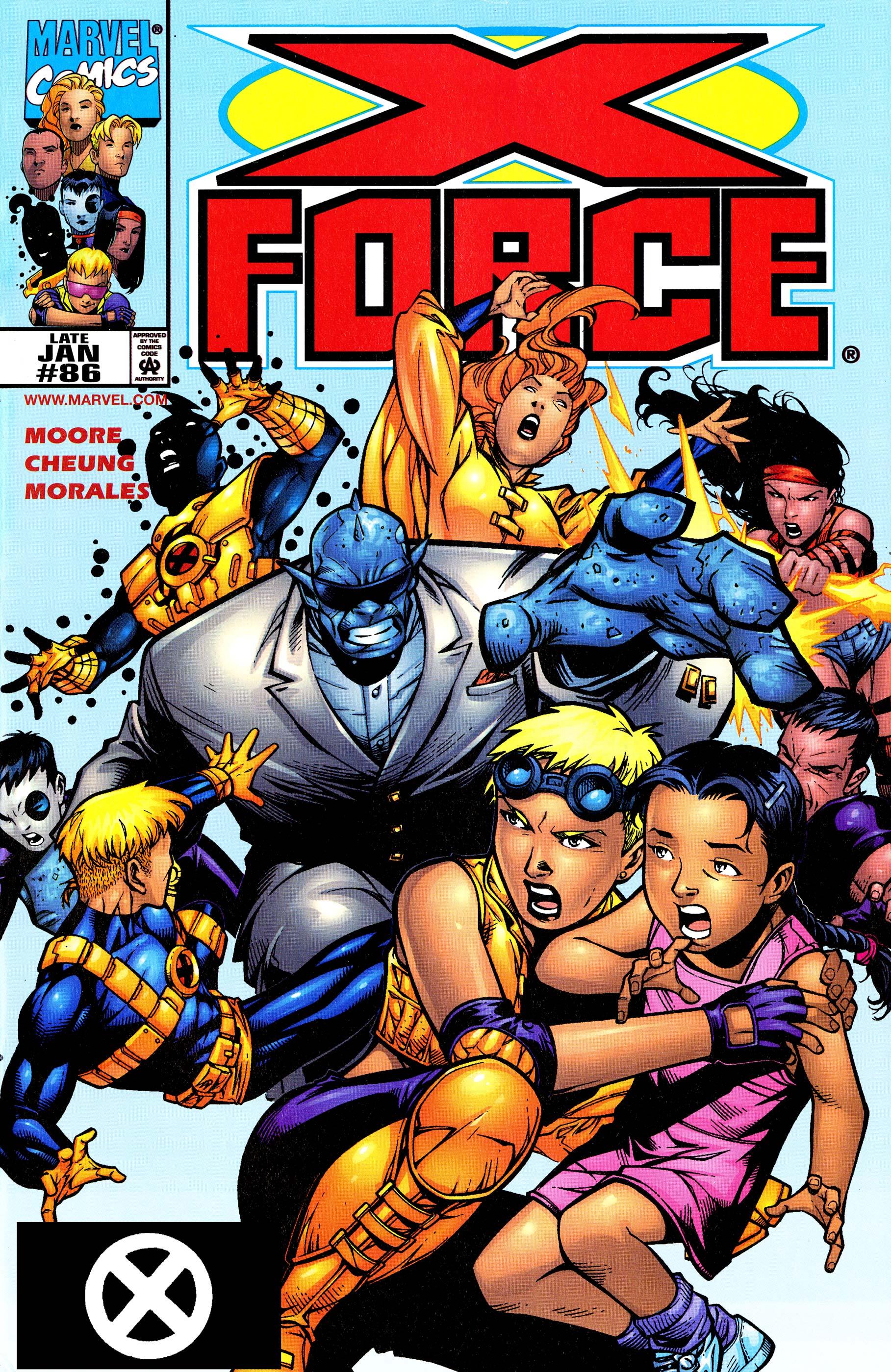 X-Force (1991) #86