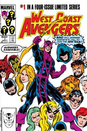 West Coast Avengers (1984) #1