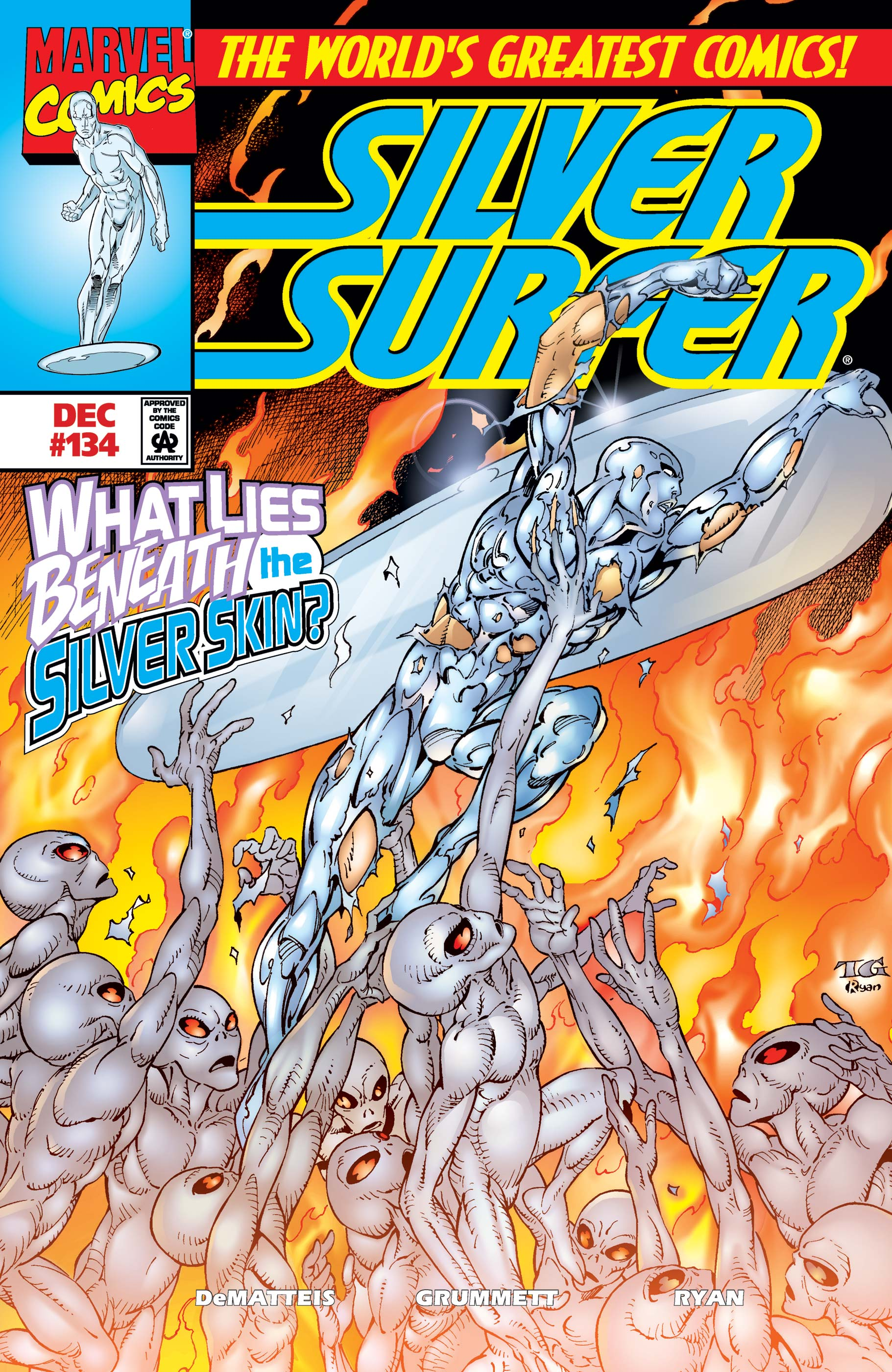 Silver Surfer (1987) #134