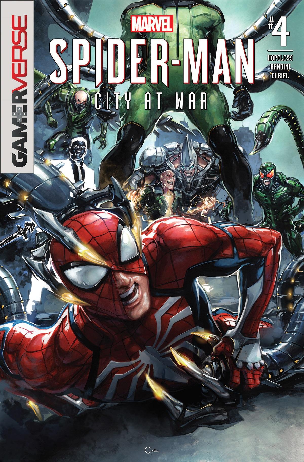 Marvel's Spider-Man: City at War (2019) #4
