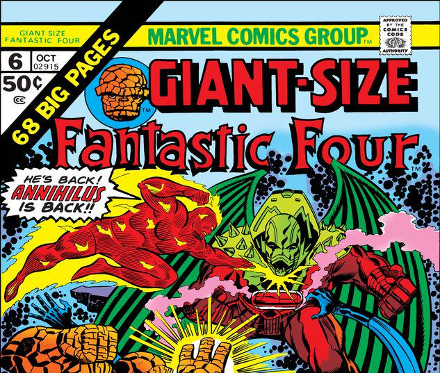 Giant-Size Fantastic Four #6