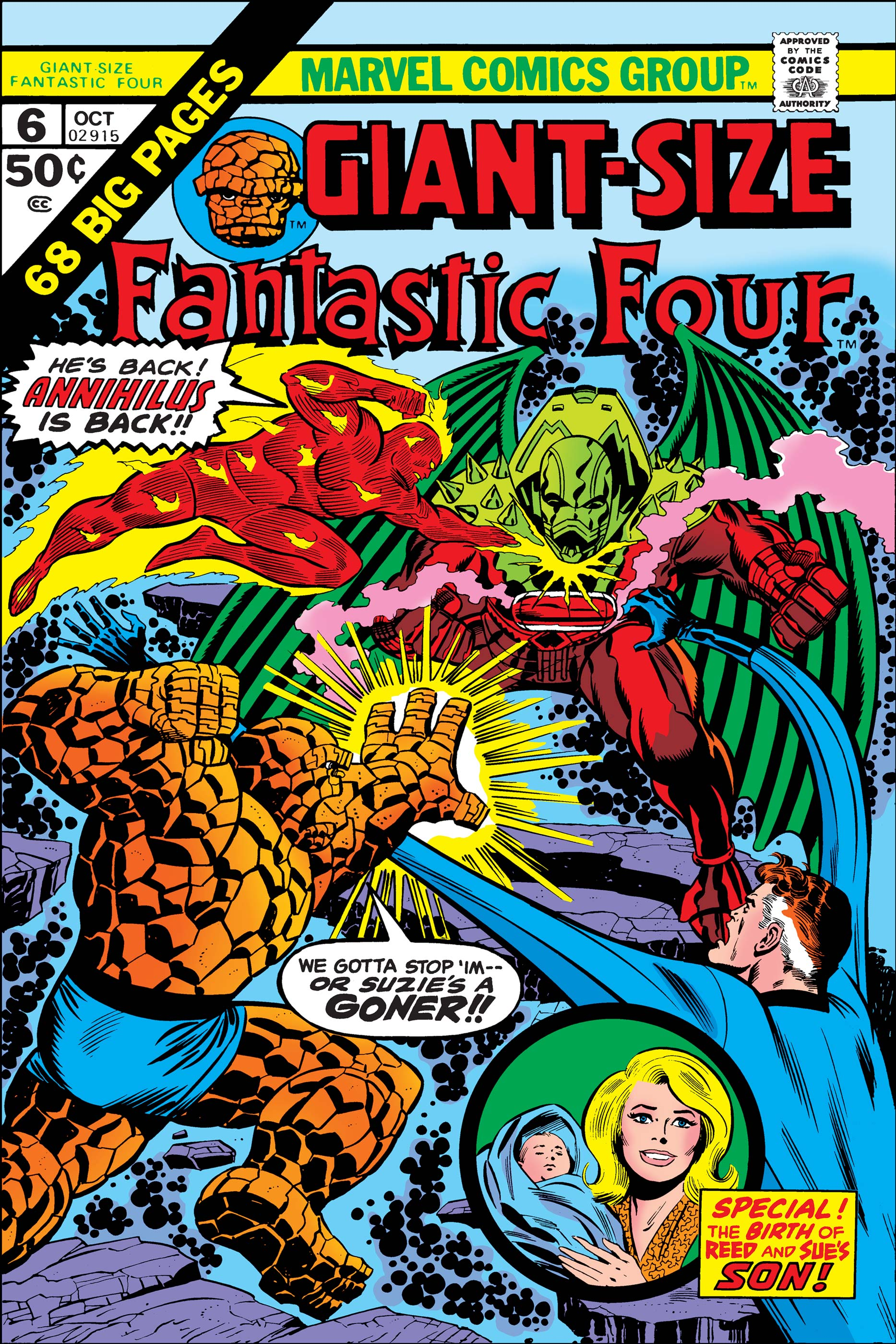 Giant-Size Fantastic Four (1974) #6