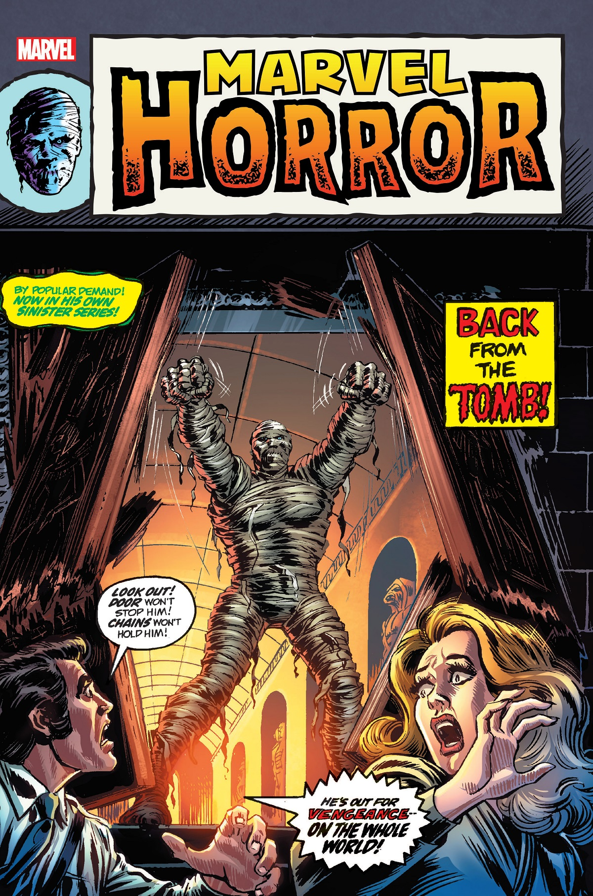 Marvel Horror Omnibus (Hardcover)