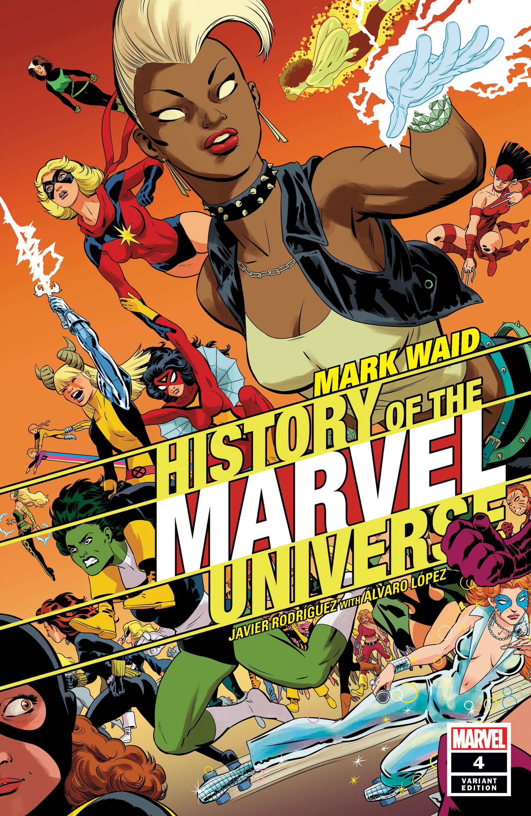 History of the Marvel Universe (2019) #4 (Variant)