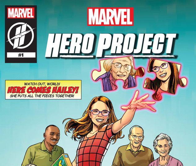 MARVEL'S HERO PROJECT SEASON 1: HERE COMES HAILEY #1