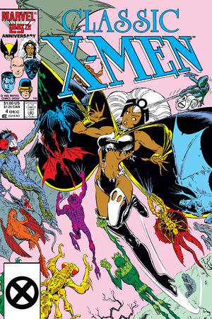 Classic X-Men (1986) #4