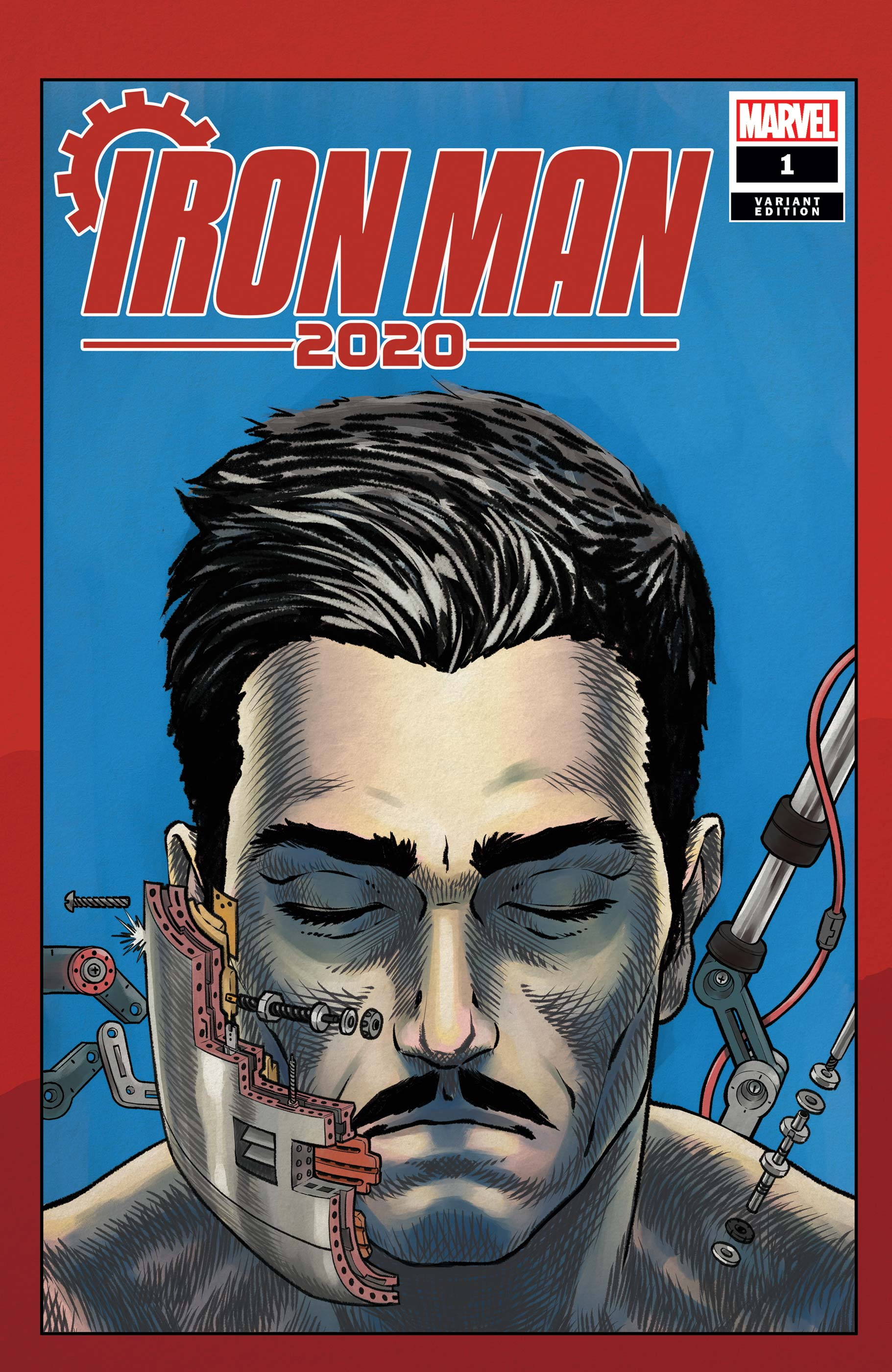 Iron Man 2020 (2020) #1 (Variant)