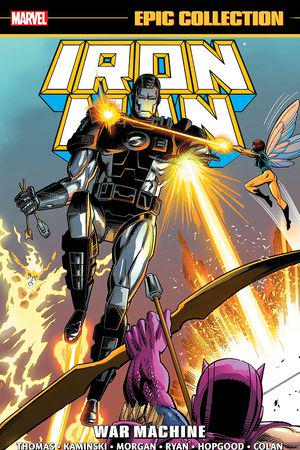 Iron Man Epic Collection: War Machine (Trade Paperback)