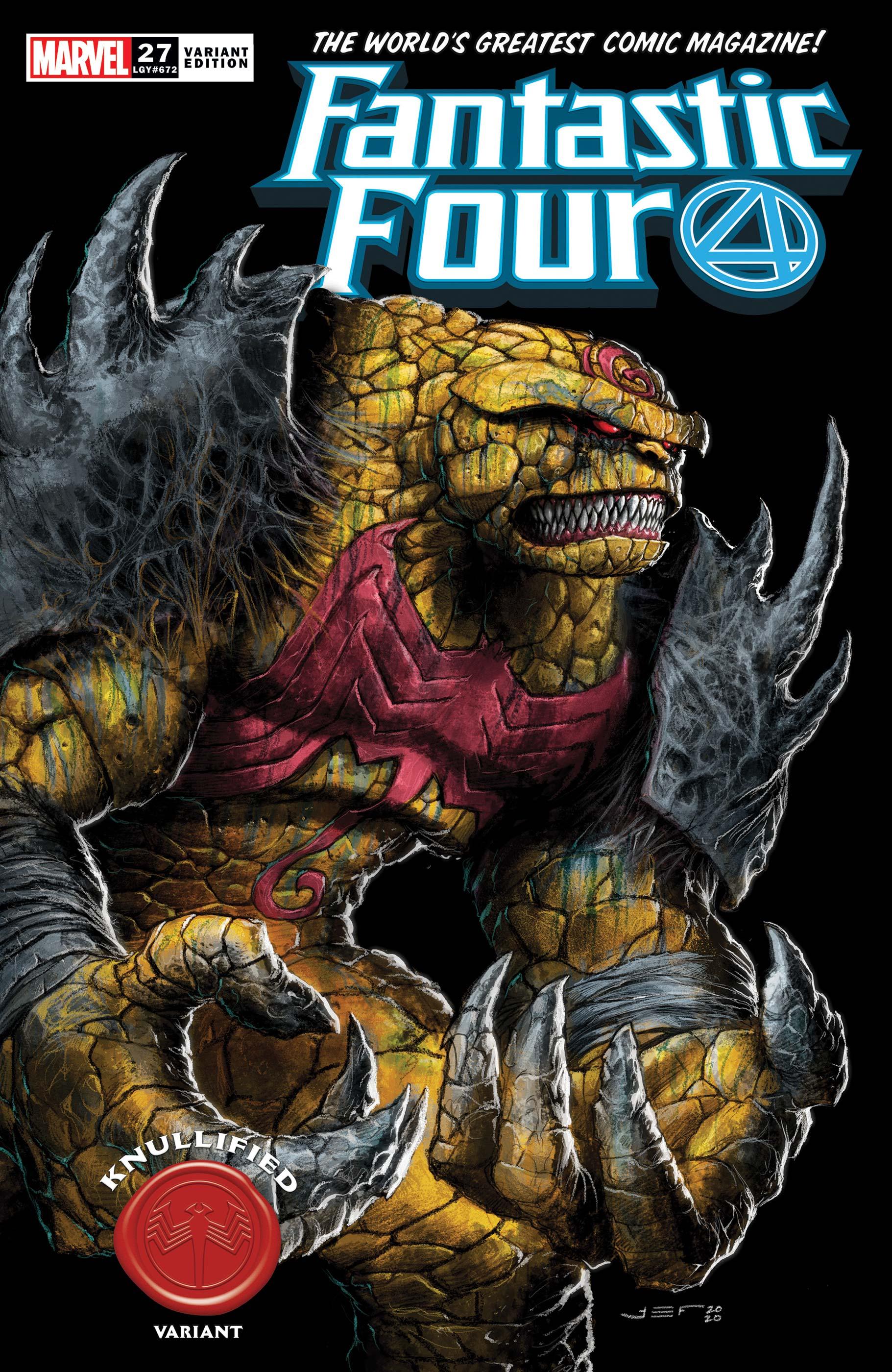 Fantastic Four (2018) #27 (Variant)