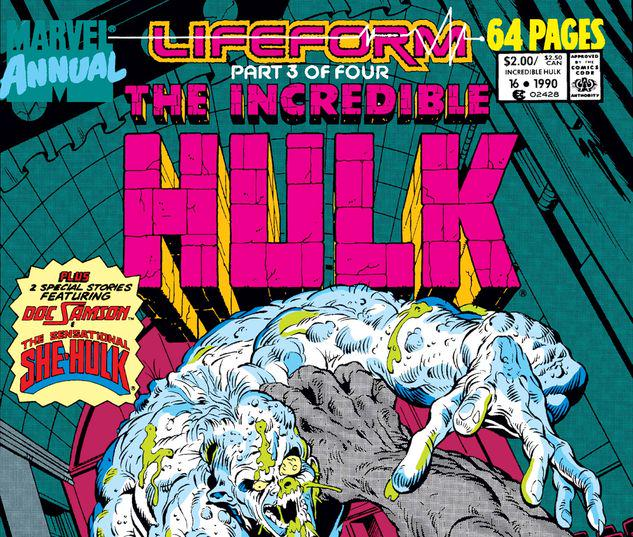 Incredible Hulk Annual #16