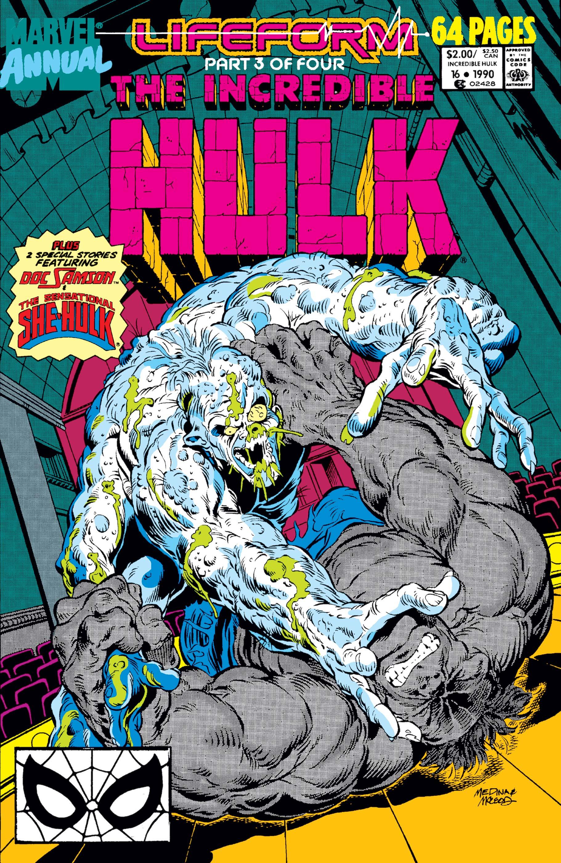 Incredible Hulk Annual (1976) #16