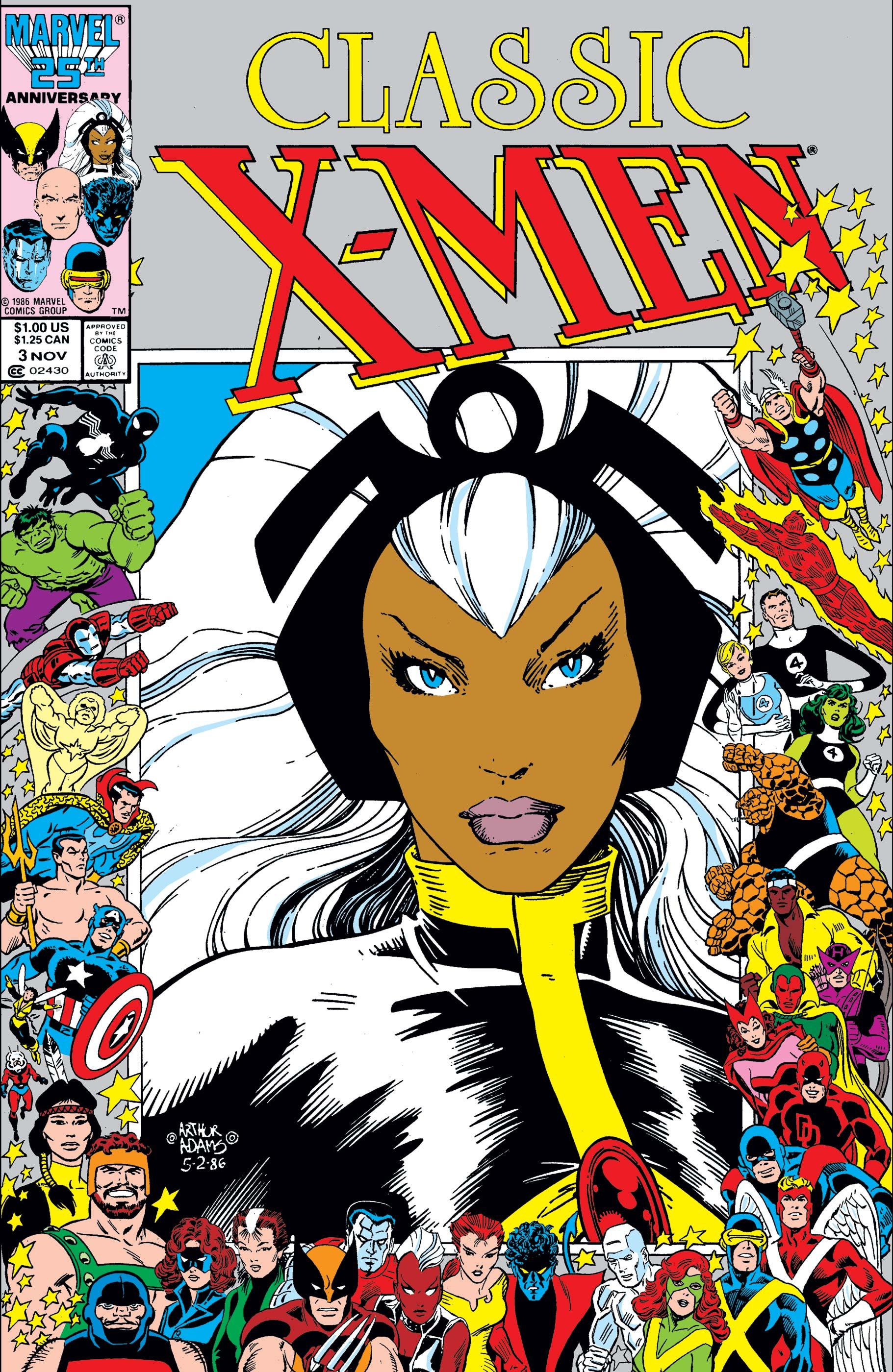 Classic X-Men (1986) #3
