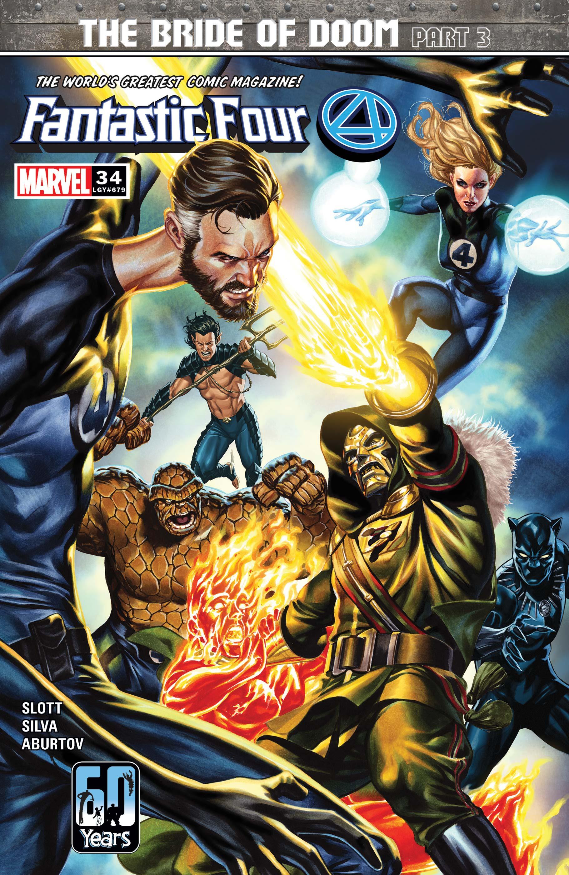 Fantastic Four (2018) #34