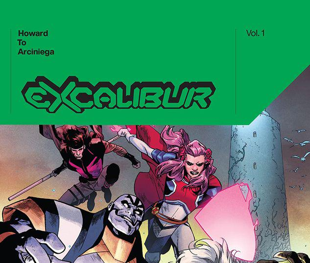 EXCALIBUR BY TINI HOWARD VOL. 1 HC #1
