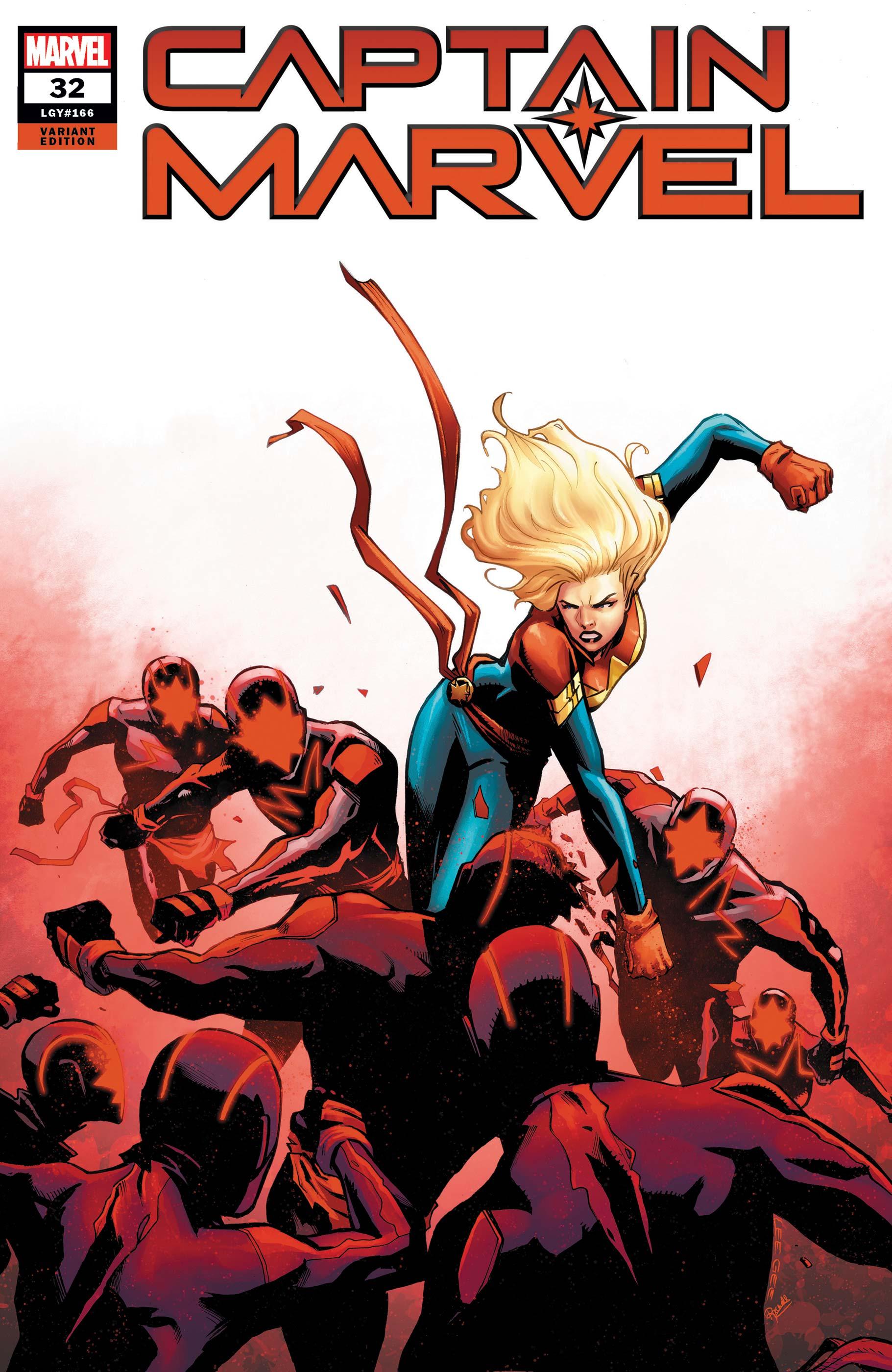 Captain Marvel (2019) #32 (Variant)