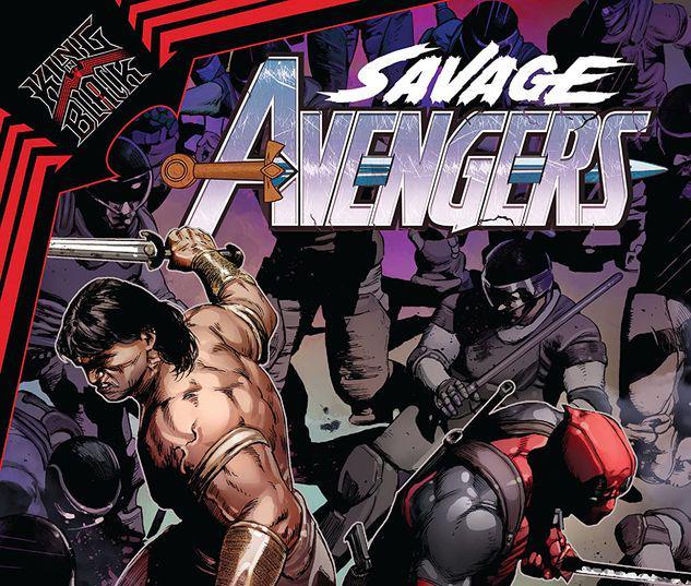 SAVAGE AVENGERS VOL. 4: KING IN BLACK TPB #4