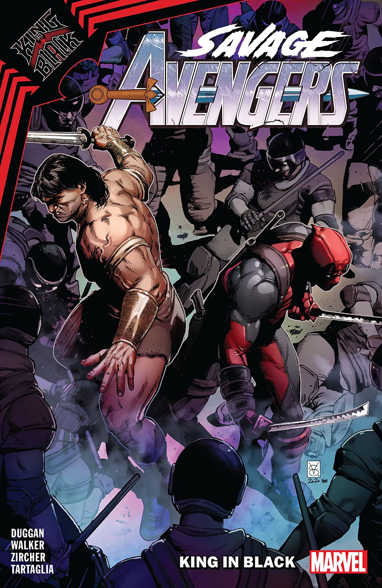 Savage Avengers Vol. 4: King In Black (Trade Paperback)