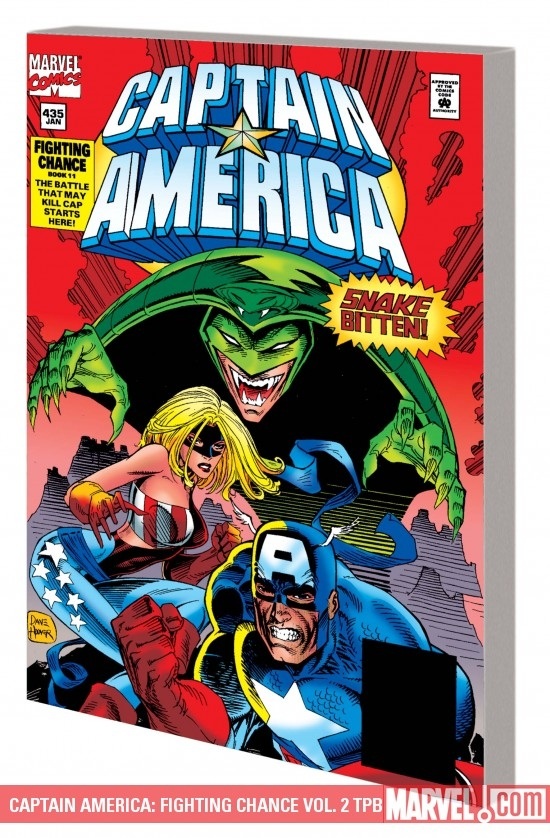 Captain America: Fighting Chance Vol. 2 (Trade Paperback)
