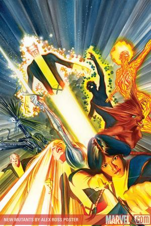 New Mutants by Alex Ross Poster (2009) #1