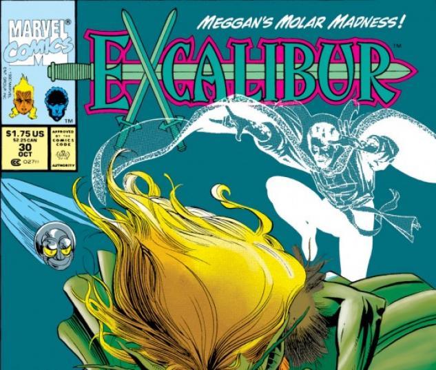 EXCALIBUR #30 COVER