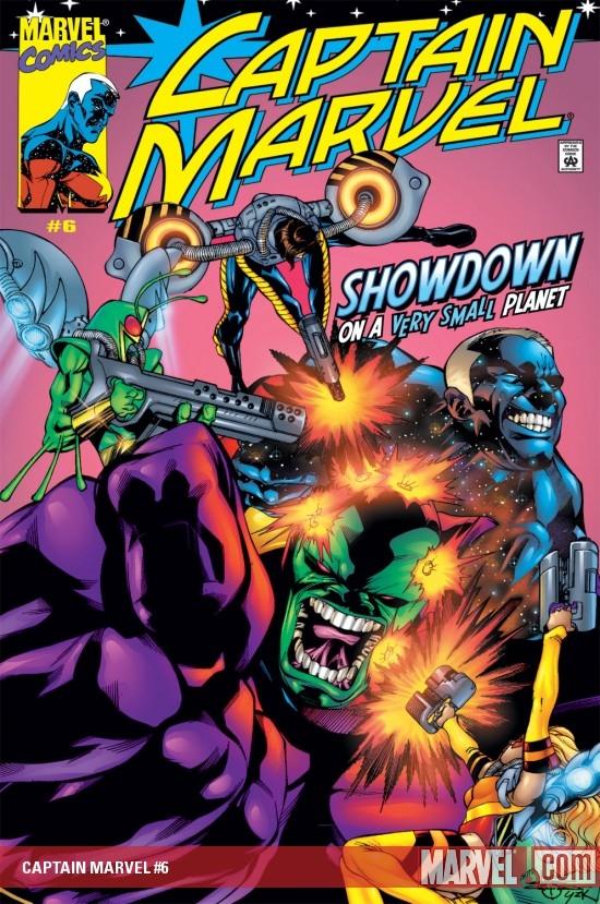 Captain Marvel (2000) #6