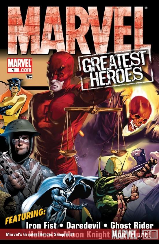 Marvel's Greatest Heroes Sampler (2008) #1