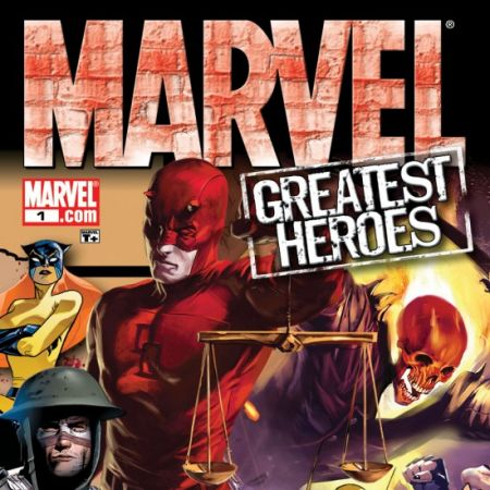 Marvel's Greatest Heroes Sampler (2008)