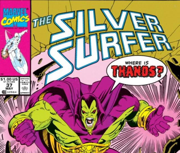 silver surfer #37