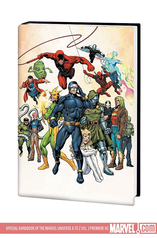 Official Handbook of the Marvel Universe a to Z Vol. 3 Premiere (Hardcover)