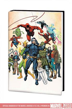Official Handbook of the Marvel Universe a to Z Vol. 3 Premiere (2008)
