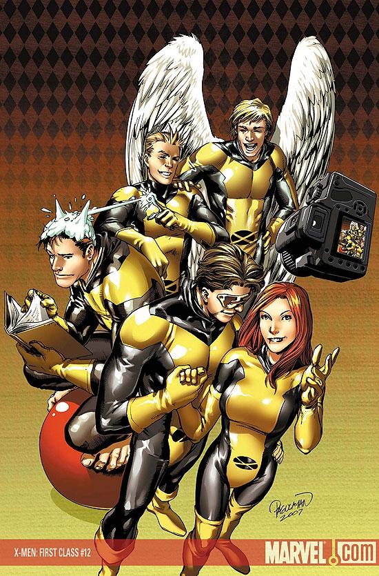 X-Men: First Class (2007) #12