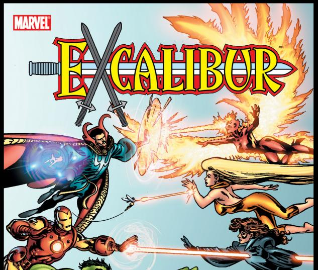 EXCALIBUR CLASSIC VOL. 3: CROSS-TIME CAPER BOOK 1 COVER