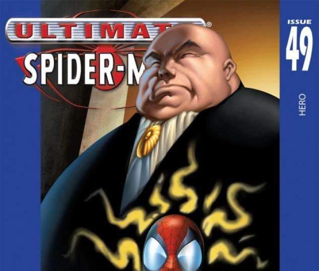 ULTIMATE SPIDER-MAN (2003) #49 COVER