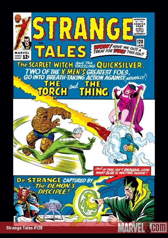 Strange Tales (1951) #128