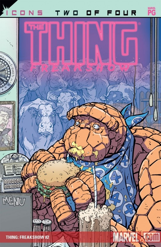 Thing: Freakshow (2002) #2