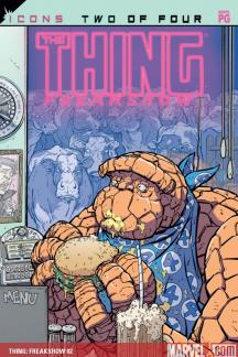 Thing: Freakshow (Trade Paperback)