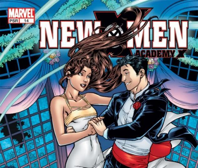 NEW X-MEN (2001) #14 COVER