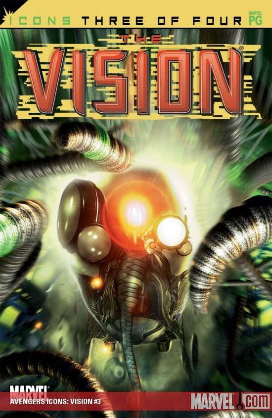 Avengers Icons: Vision (2002) #3